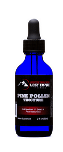 lost empire herbs pine pollen tincture by superman herbs