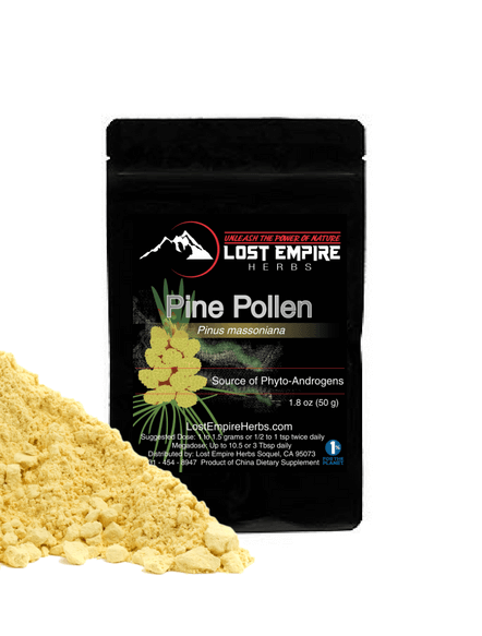 lost empire herbs pine pollen powder photo